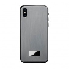 gary color iphone x / xs metal back case