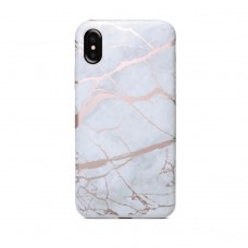 white color Marble texture iphone cover case for iphone x/xs